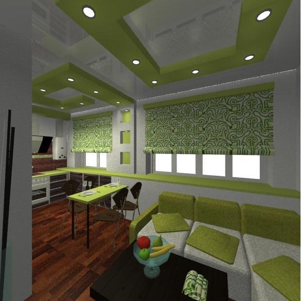 Дизайн 3 д кухни
